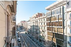 apartment with a view, Dandi enjoys a privileged position in Eixample, only a block away from Passeig de Gràcia