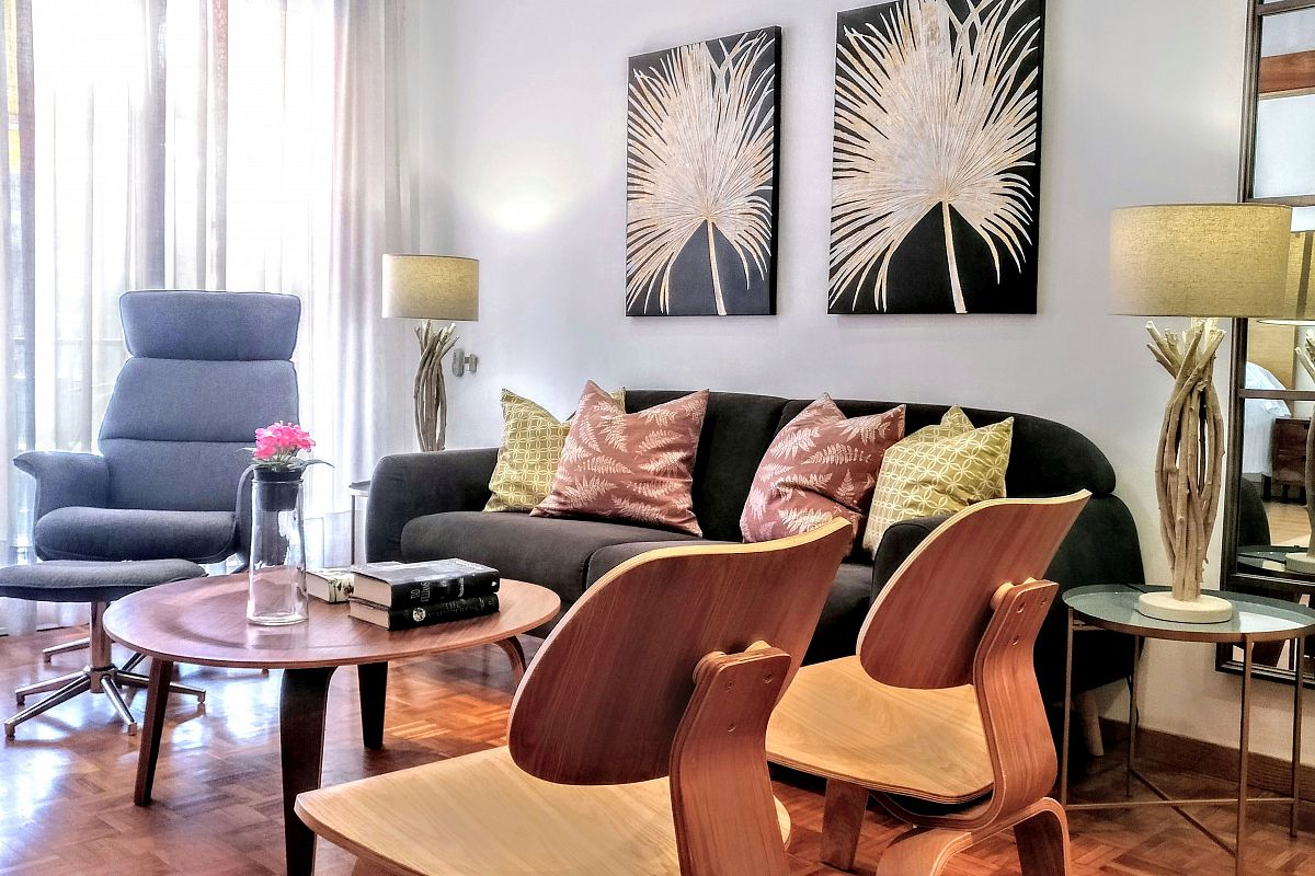 view of the living space in the Noname short tem rentals property in Barcelona dreta del Eixample