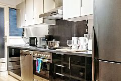 If you would love to cook your own meals a fully equiped kitchen, has been displayed for your enjoyment