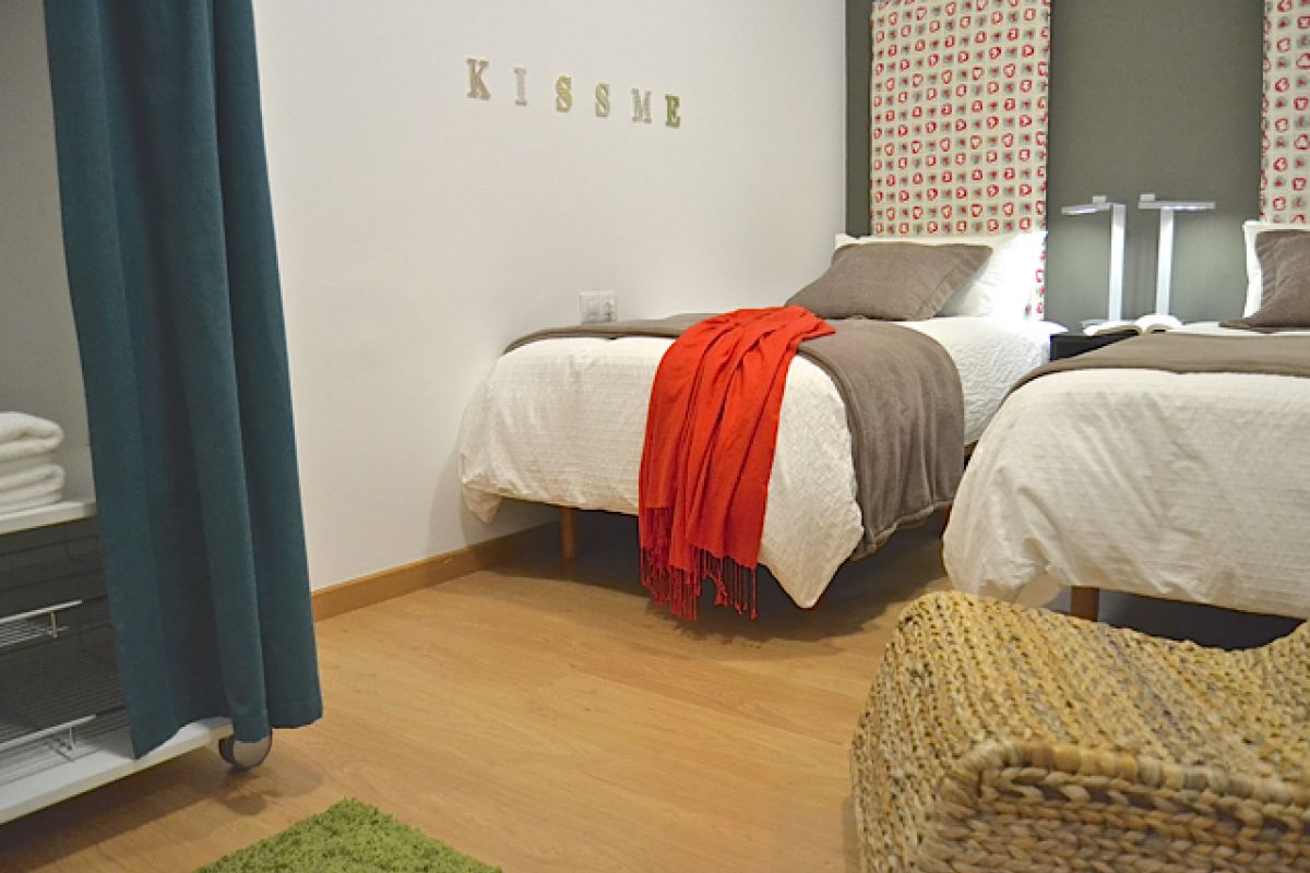 personal and charming interior design that combines comfort and style in the KissMe apartment to rent short term in Barcelona