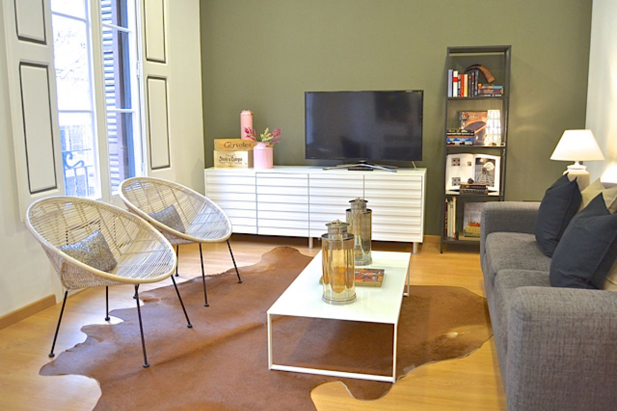 celebrate your most special events in Bacelona in this unique KissMe short term rental apartment