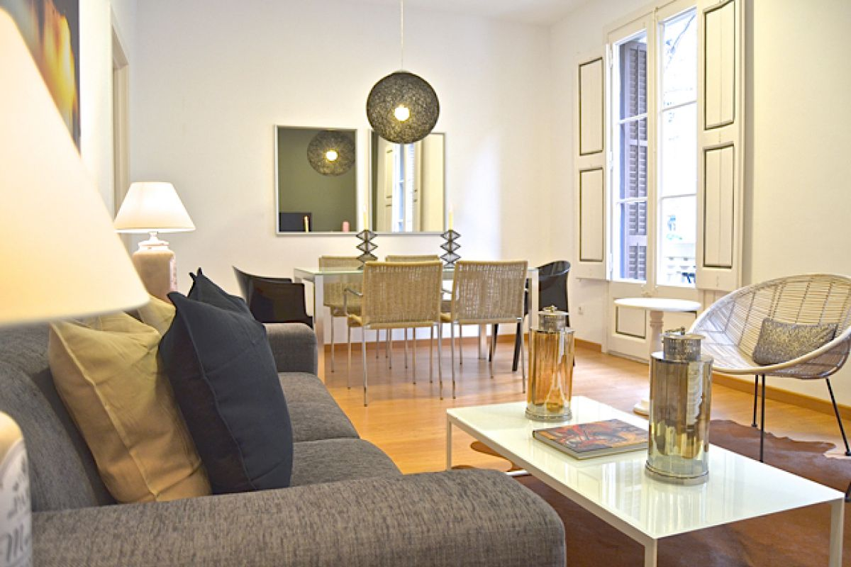 a stay in this vacation rental KissMe apartment could be the perfect moment to celebrate your most special events in Bacelona
