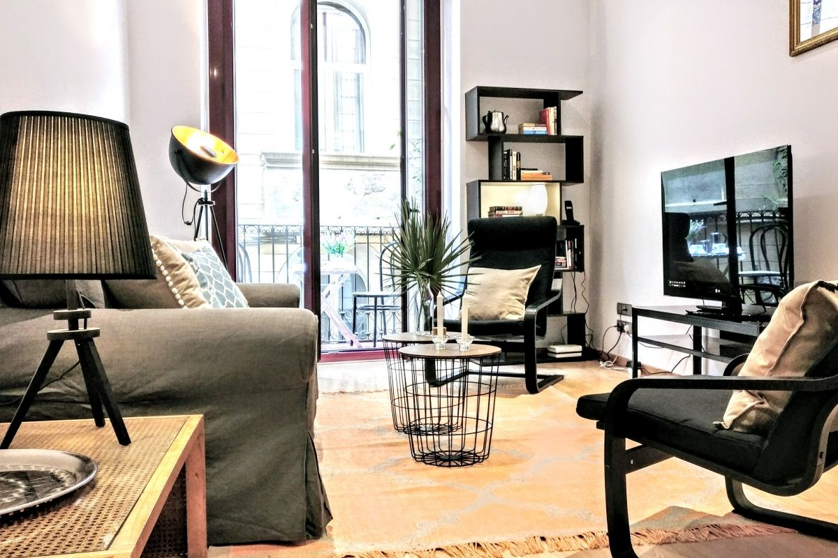 Parsifal apartment in barcelona for rent on La Rambla