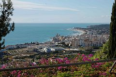 Sitges view and beaches