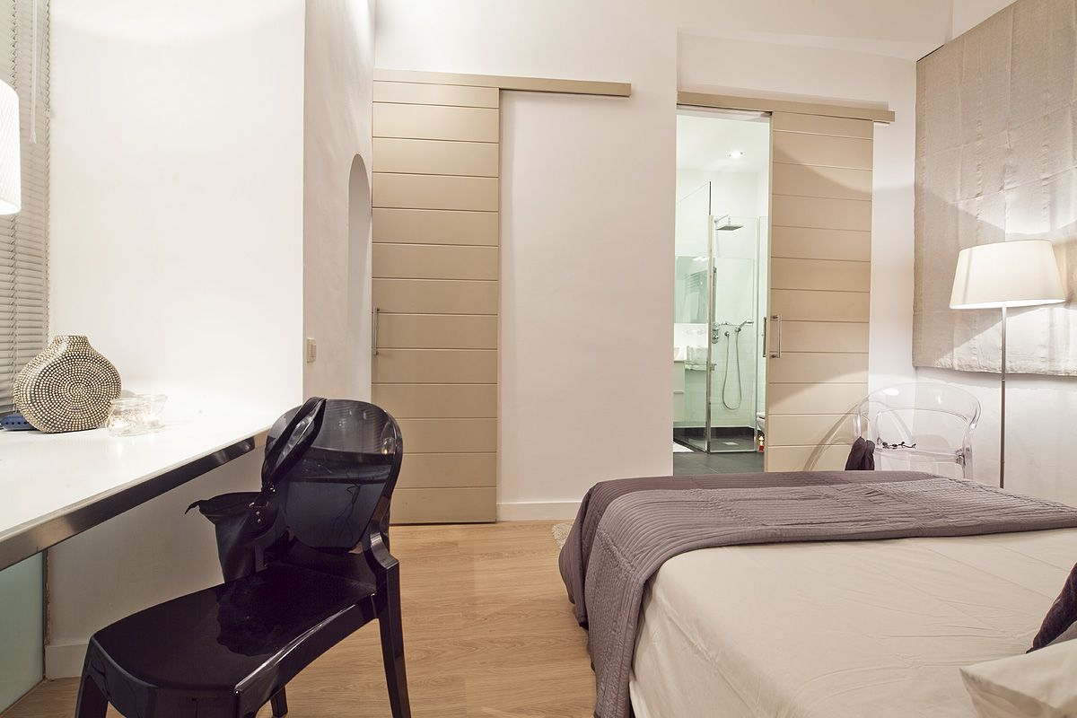 the master bedroom has the bathroom ensuite, for extra privacy